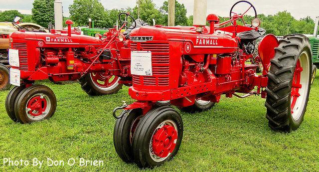 1940 Farmall H and a Farmall C